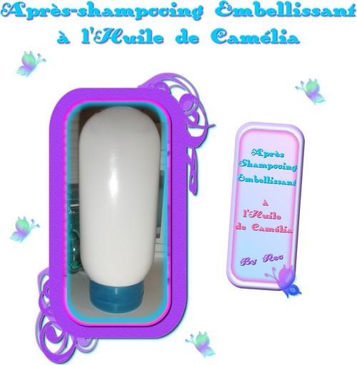 Diy cheveux apr s shampoing maison l 39 huile de cam lia for Apres shampoing maison