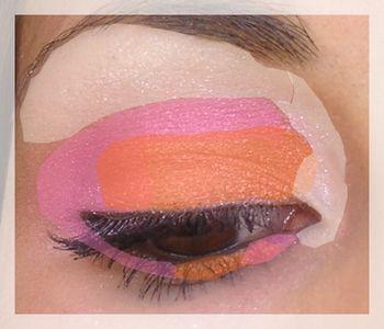 Maquillage du Jour Rose et Orange , By Reo