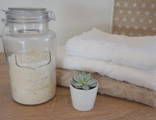 Recette lessive maison en poudre
