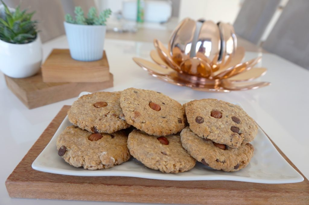 cookies healthy alimentation saine anti acne