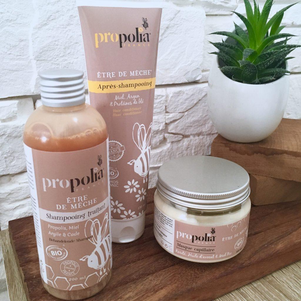 gamme cheveux propolis blog avis byreo