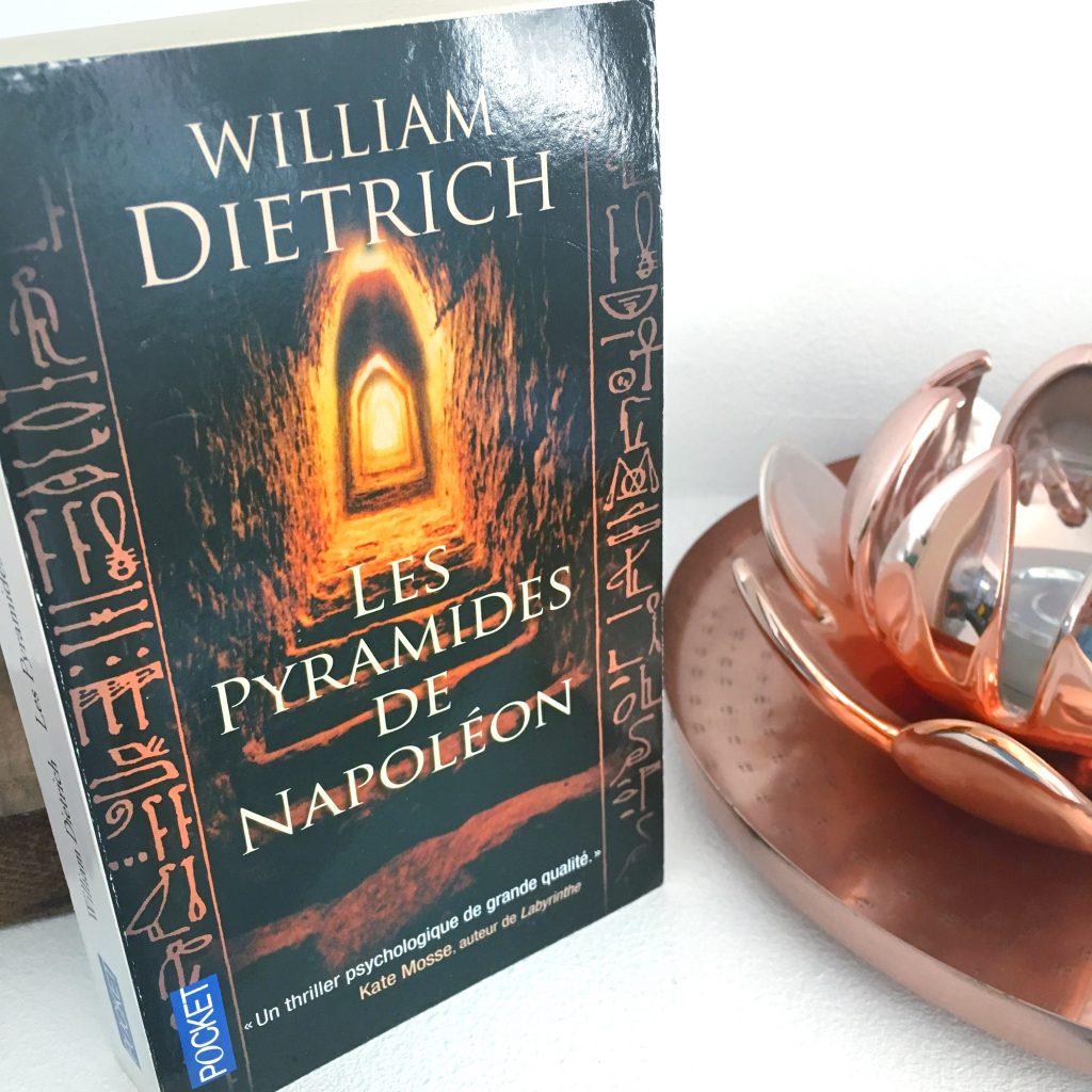 Les pyramides de Napoleon blog livre booktube