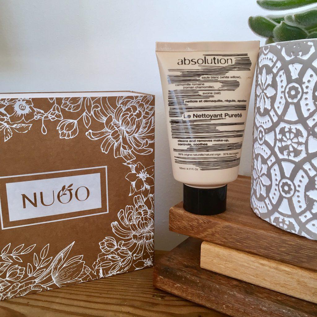 Absolution gel nettoyant pureté avis peau grasse acne