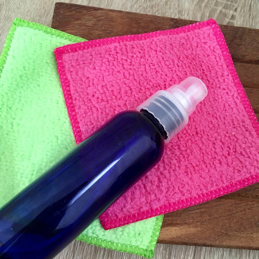 spray hydrolat lingettes réutilisables prowin