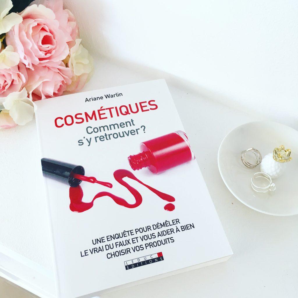 livre cosmétiques comment s'y retrouver avis lecture