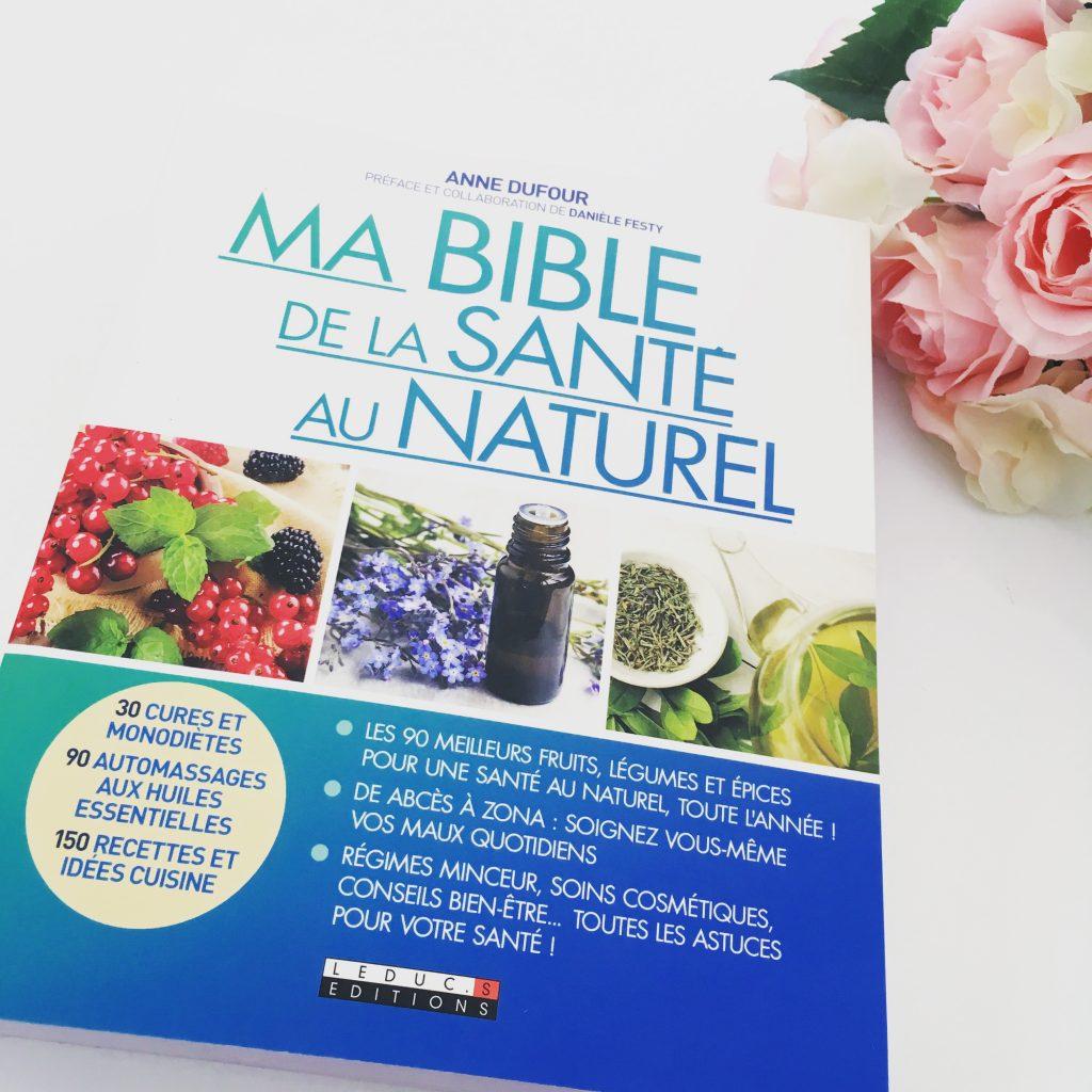 ma bible santé au naturel avis blog byreo lecture