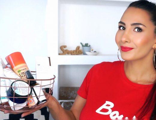 produits termines blog beauté cheveux acne peau grasse