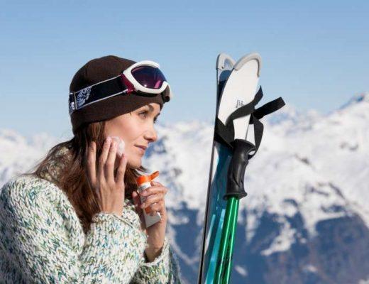 proteger sa peau ski sport d'hiver froid